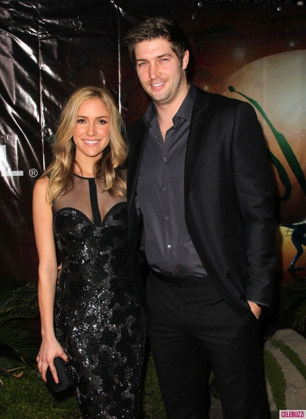 Best Kristin Cavallari with Jay Cutler Style When Walking Along black theme