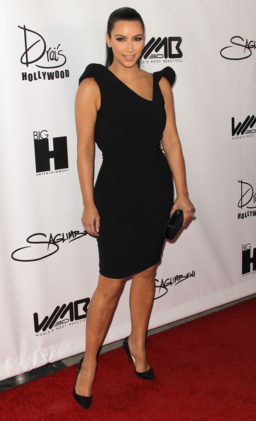 Kim Kardashian Style in Fashion Trend Little Black Dress Kim Kardashian Style in Fashion Trend