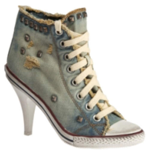 New 2012 Womens Converse High Tops and High Heels Converse High Heels New 2012 Womens Converse High Tops and High Heels