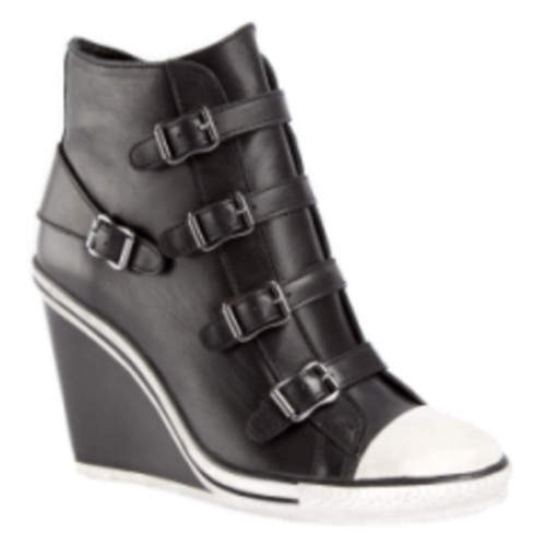 New 2012 Womens Converse High Tops and High Heels black New 2012 Womens Converse High Tops and High Heels