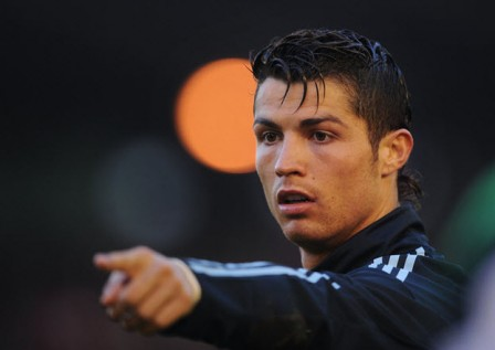 Cristiano Ronaldo Hairstyle for 2012 right