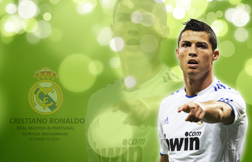 Cristiano Ronaldo Hairstyle for 2012 wallpaper