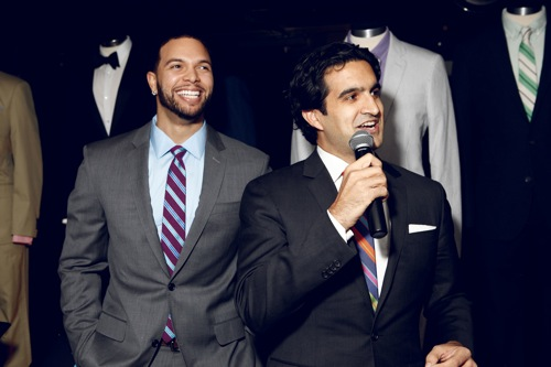 Deron Williams Fashion Style With BONOBOS ADunn Deron Williams Fashion Style With BONOBOS