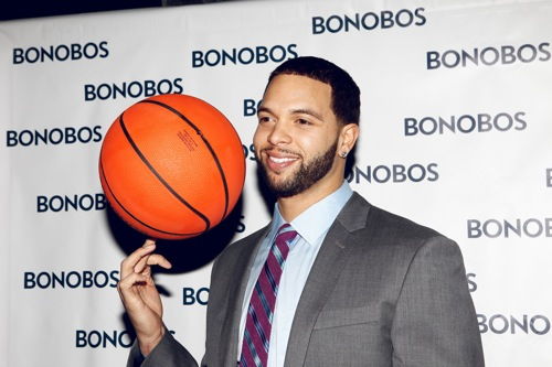 Deron Williams Fashion Style With BONOBOS Ball Deron Williams Fashion Style With BONOBOS