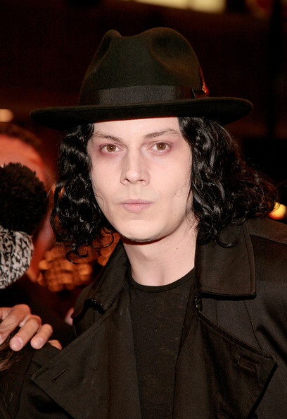 Jack White Fashion Style in Fashion Awards black hat Jack White Fashion Style in Fashion Awards