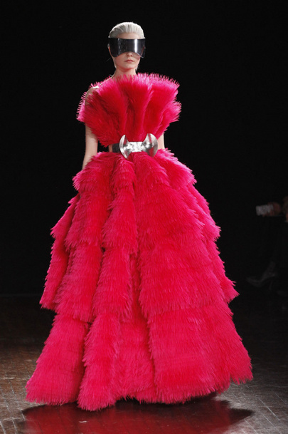 Fall 2012 Collection by Alexander McQueen Breathtaking Moment from Fall 2012 Collection by Alexander McQueen