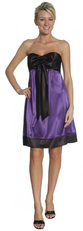 black and purple grad dresses 285x790 Purple grad dresses for your dazzling outfit