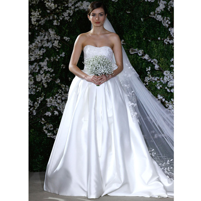 carolina herrera bridal 2011 The Most Awaited Collection from Carolina Herrera Bridal