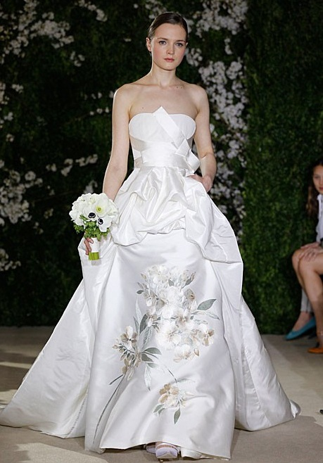 carolina herrera bridal 2012 spring The Most Awaited Collection from Carolina Herrera Bridal