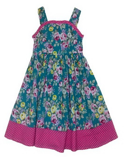 flower dresses for kids Flower Frocks for Kids for Formal Event