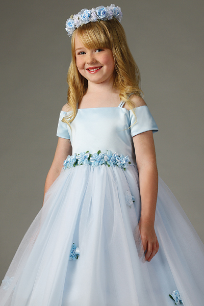 flower girl dresses for children