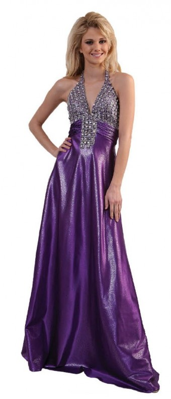 purple grad dresses 340x790 Purple grad dresses for your dazzling outfit