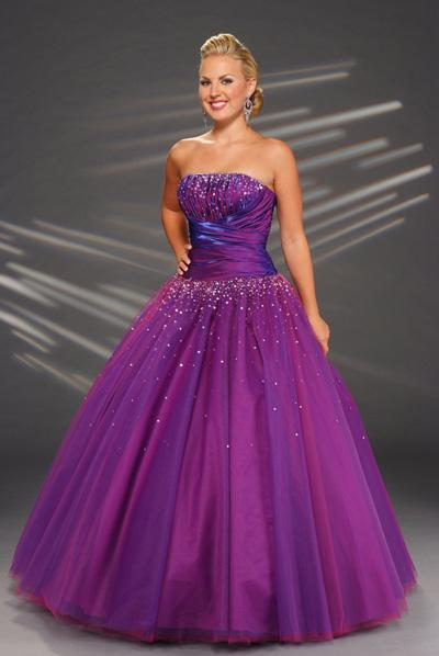 Purple prom dresses the gorgeous youngest dresses