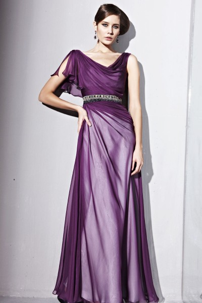 purple prom dresses with sleeves Purple Prom Dresses the Gorgeous Youngest Dresses