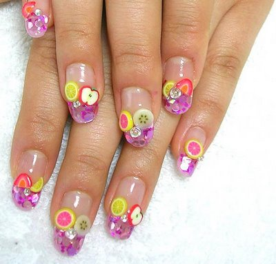 3d nails in houston1 3D Nails Style a La Japanese Girl