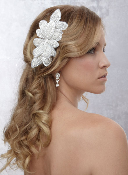 hairstyles with headband : veil/hair pin ideas Bridal Hairstyles Pinterest