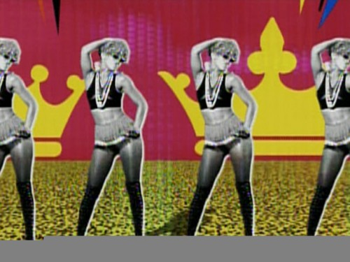 Rihanna rude boy music video hair 500x375 Rihanna Rude Boy Music Video Hair style as the Extreme Hairstyle of Rihanna