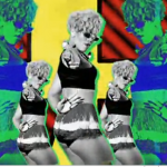 Rihanna rude boy music video hair Screenshot 150x150 Rihanna Rude Boy Music Video Hair style as the Extreme Hairstyle of Rihanna