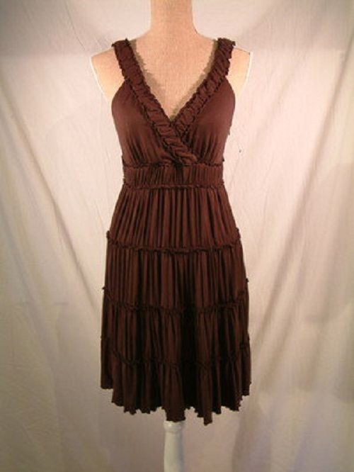 2e93cc5833a Brown Summer Dresses for Sexy Look