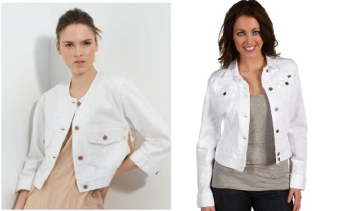 white jean jacket outfit ideas