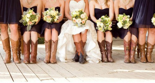 Cowboy Wedding Fashion Trend