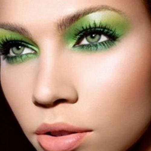green eyes makeup - photo #11