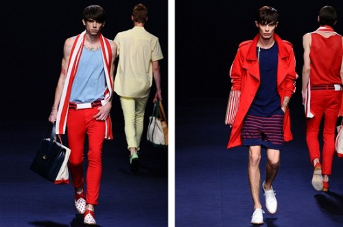 Red Summer Clothes for 2012 500x332 Summer clothes for 2012 are dominated with the use of bright colors and floral pattern.