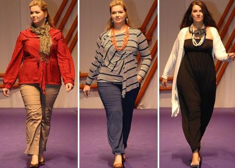 trendy plus size fashion 2012 for big girls