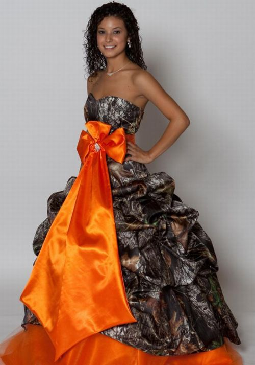 Cheap Short Camo Wedding Dresses