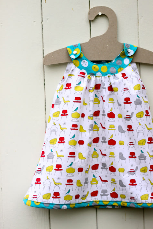 Girl Dress Pattern Free from Blogs