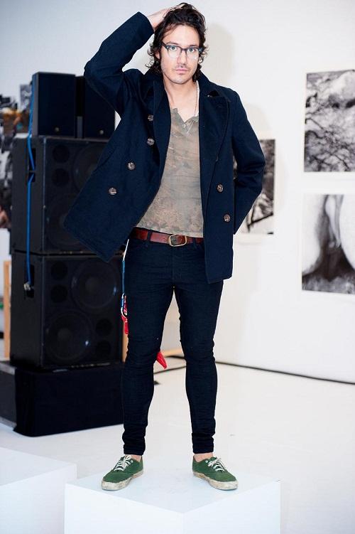 Mens Wear Jeans Black Skinny Jeans on Men For