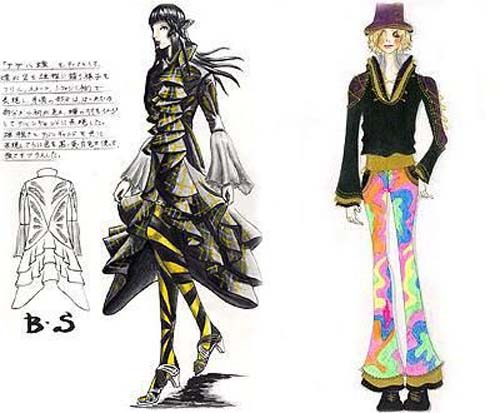 Harajuku Fashion Sketches Evelynt Harajuku fashion sketches: Bring the Uniqueness Over the World