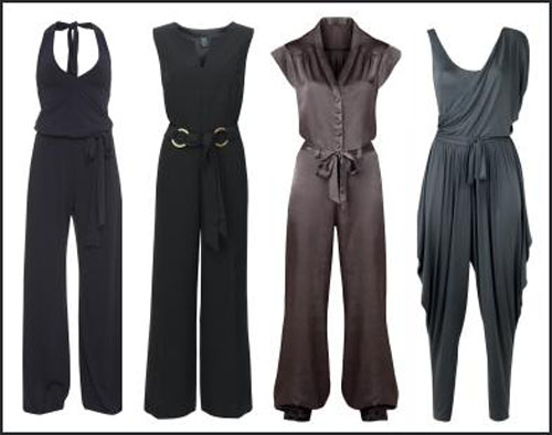 Unique Boohoo Womens Tie Neck Tailored Jumpsuit | EBay
