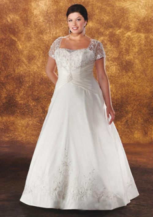 Lace Plus Size Wedding Dress Because Big Is Beautiful