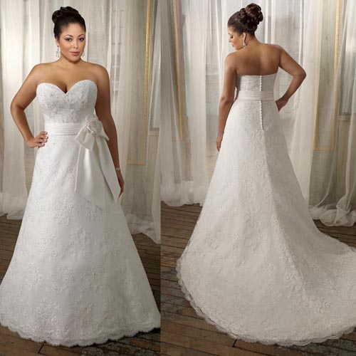 Lace plus size wedding dress because big is beautiful for Help me find a wedding dress