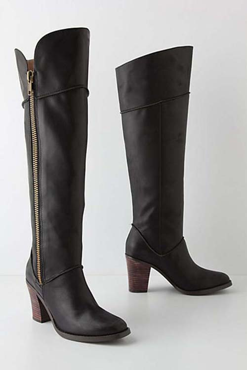 Riding Boots Fashion Lateral Ladies Riding Boots Fashion
