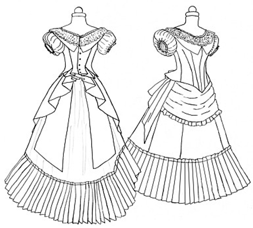 Victorian Dress Patterns Design