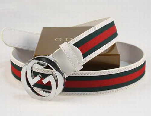 White Mens Gucci Belt Mens Gucci Belt Collections