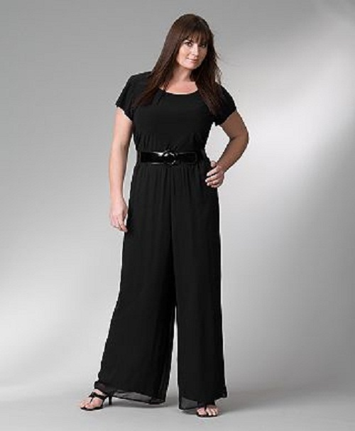 Popular Plus Size Women Jumpsuits 6XL 7XL Sexy V Neck With Sashes Long Rompers