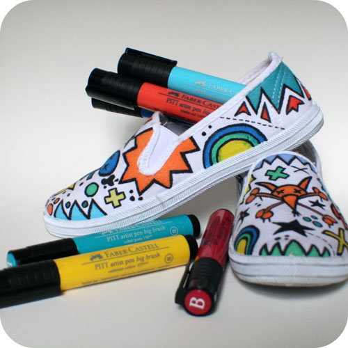 Design of canves shoes do it yourself design of canves shoes with pen solutioingenieria Images