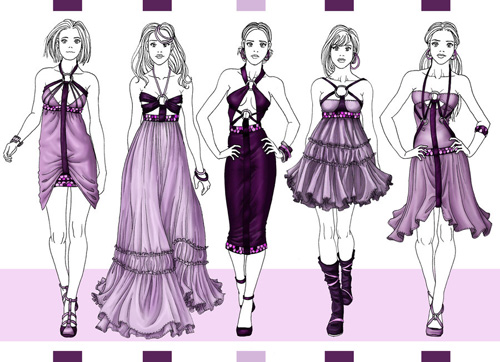 Fashion Design Sketches For Beginners How To Draw Fashion Design
