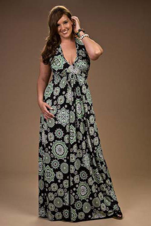 Maxi Dress Plus Size: Beautiful in Overweight