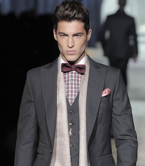 Casual Wear For Men Fashion Show Mens Bow Ties Favorable