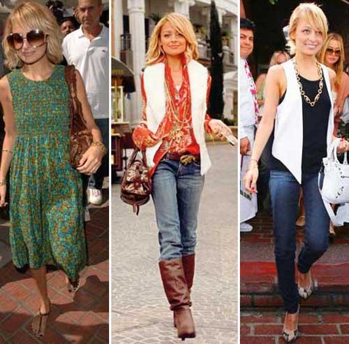 Nicole Richie Casual Fashion