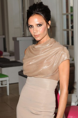 Cremae Gold Victoria Beckham Dresses Victoria Beckham Dresses, Being Fashionable With Simple Things