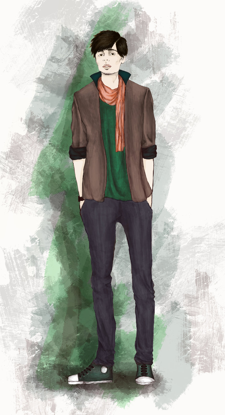 Fashion Male Sketch Design Fashion Male Sketch Will Make Gentlemen More Stylish