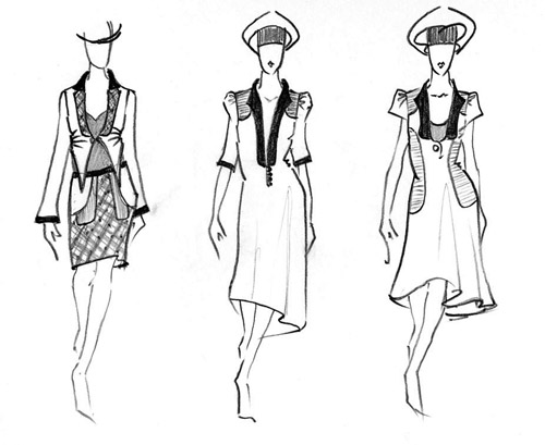 how to draw a dress design ideas - Dress Design Ideas