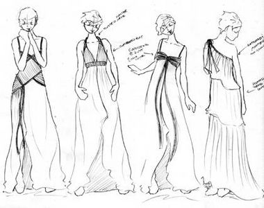 How to Draw A Dress Design for Long Dress How to Draw a Dress Design to Show Your Fashion