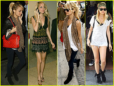 Nicole Richie Fashion Style Nicole Richie Fashion Style Attractive Look