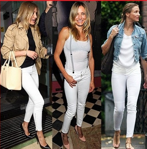 White Skinny Jeans Fashion Skinny Jeans Fashion Teen Celebrity 2013